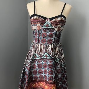 Band of Gypsies Patchwork print Dress